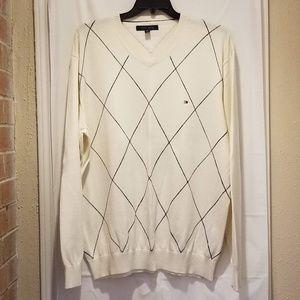 Men's Tommy Hilfiger V-neck Pullover Sweater